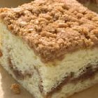 "It takes a lot to qualify as ""Classic Coffee Cake"" at Starbucks. Only the softest, moistest, most scrumptious cake is served alongside our premium roasts. Each slice has a layer of cinnamon streusel swirled within it and a crumble top that deliciously balances sweet Cholesterol 95mg: 32%."