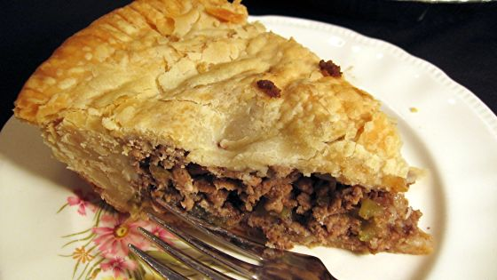 Tourtiere (French Canadian Meat Pie) Recipe